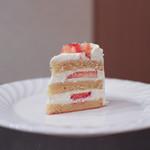 カフェ ランシュパーズ - 料理写真:苺のショートケーキ☆