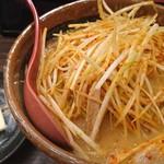 79797386 - 北海道味噌肉ネギラーメン バタートッピング