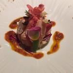 フリジェリオ - カニと魚介の前菜
