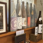 手打ちそば処 椿屋 - 日本酒の品揃え