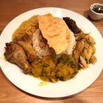 スリランカカレー&BAR セイロン食堂 - スリランカカレープレート
