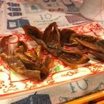とびうおkitchen - ほやの燻製
