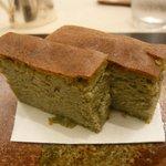 びすとろ菜 - 蓬(よもぎ)チーズケーキ