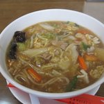天壇 - 料理写真:五目あんかけ麺
