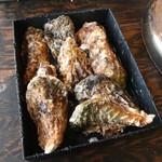かき小屋 - 今回の牡蠣