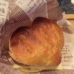 ぴらにやカフェ - ハンバーグのパイ♡ハート♡