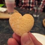 ぴらにやカフェ - 友人のロリポップのクッキー貰った♡