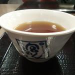 宮きしめん - お茶