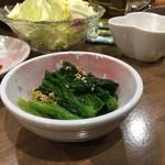 串かつ 四つ葉 - メニューに書いてないその日によってサプライズな小鉢色々美味しい♡