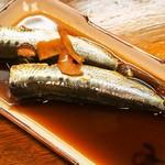 エノキ屋酒店 - イワシの生姜煮