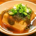 エノキ屋酒店 - おでんの湯豆腐