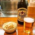 エノキ屋酒店 - 手作りポテサラ & ビール
