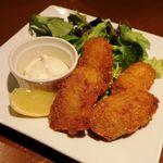 魚沼の恵をあなたへ 八海山バル - 牡蠣フライ