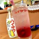 おる商店 - *赤しそハイサワーレモン(¥550)