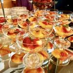 ル・トリアノン - イチゴとオレンジのフルーツカクテル