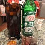 ShinYeh Original Restaurant - 温かい紹興酒と、冷えてないビール