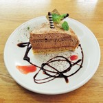 ジ アース カフェ - チョコタルト