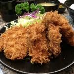 とんかつ 大宝 - ヒレかつ定食 1450円