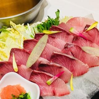 こだわり出汁しゃぶ!【春夏秋冬】河豚、玉ねぎ、鱧、旬野菜・魚