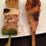 SUMIBOZU - 料理写真:ねぎまと生つくね