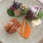 クッチーナ トラスクア -   前菜3種