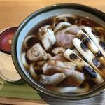 麦 kamiuma ASAHIYA - 料理写真:鴨南ばん(温)