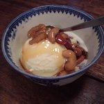 タオ カフェ - メープルたっぷりナッツのバニラアイスクリーム