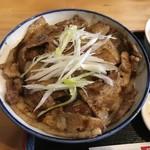 銀の舞 - 豚丼醤油です。