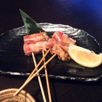 木村屋本店 - 牡蠣のベーコン巻串