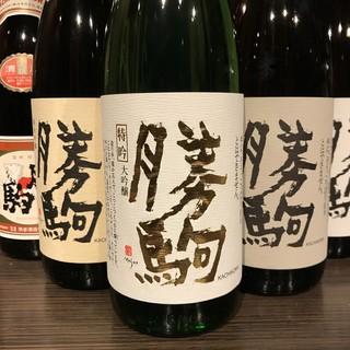 【勝駒】『全6種完備!』富山の入手困難酒!富山特化の強み!