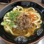 英ちゃんうどん - 料理写真:オススメの 肉うどん ¥367(税込)