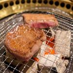 牛和鹿 - 厚切りトロタン塩