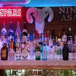 忍者場 NINJABAR - 日本酒以外生ビール、忍者ラガービール、焼酎、ウイスキー、カクテルなどなど沢山ございます。