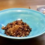 明道町中国菜 一星 - 筍干海老挽肉炒め
