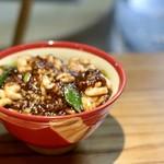 明道町中国菜 一星 - 麻婆白子丼