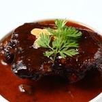 Tartaruga - Tarutaruga特製鴨もも肉のバルサミコ煮 粒マスタード添え