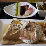 レストラン サティスファクション - 今日は鯛の煮付けです