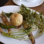 レストラン サティスファクション - 温かいサラダ