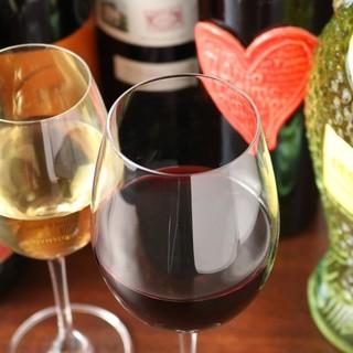 イタリアワイン好きオーナーが厳選♪ハイボールもございます。