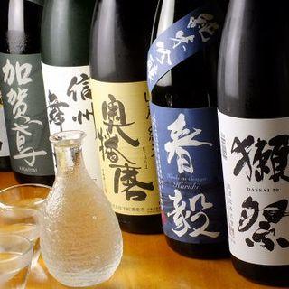 「今旨い」日本酒を厳選!当店でしか味わえない「一藤」をぜひ!