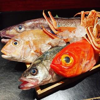 毎日直送!鳥取県産の海鮮を贅沢に…