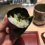 第三春美鮨 - 名物鯖巻き
