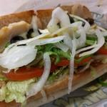サブウェイ - チーズローストチキン 野菜は上限まで増量