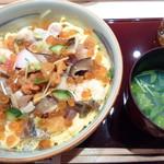 匠 誠 - 料理写真:うしお汁と一緒にちらしが登場