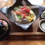 日本茶甘味処あずき - 生ちらし