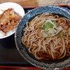 街道めん工房 - 料理写真:ミニ天丼セット(430円)
