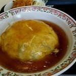 餃子の王将 - 天津飯、京風味。