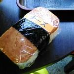 あさひ - スパムにぎり(チーズ) 190円