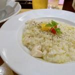 79833627 - 鶏白湯チーズリゾット