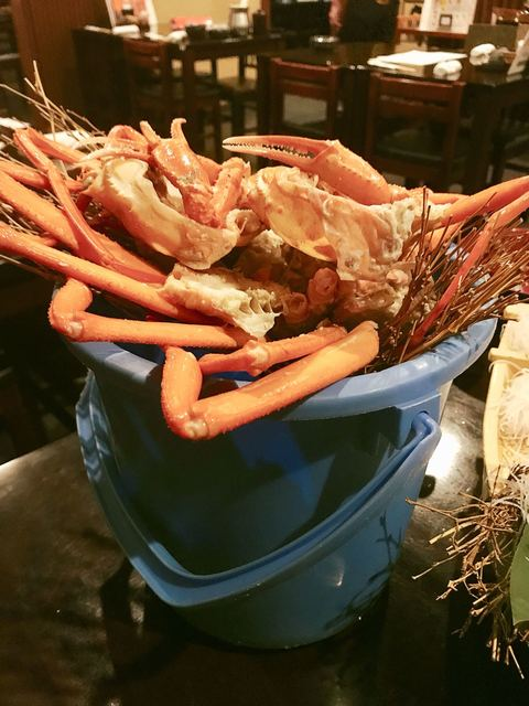 魚匠 隆明 北野坂本店 - バケツの底上げなんだけど、この演出うまいわ!
